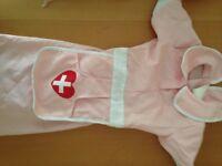 Girls Fancy Dress Costumes Nurse Halloween 3-6 yrs