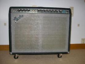 1979 Fender Twin Silverface amp