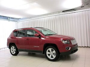 2016 Jeep Compass HIGH ALTITUDE 4x4 SUV w/ HEATED LEATHER, ALLOY