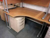 Ergonomically Designed Corner Office Desks