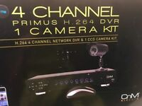 CCTV Camera Kit. complete Remote Access on your phone Brand NEW