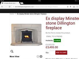 Minster Stone Fireplace
