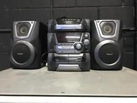 Panasonic sa-ak25 hifi stereo cd tape music radio player
