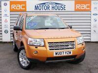 Land Rover Freelander TD4 HSE (SAT NAV) FREE MOT'S AS LONG AS YOU OWN THE CAR!!! (orange) 2007