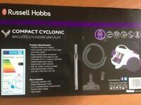 Russel Hobbs bagless vacuum cleaner brand new