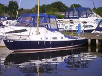 Rare Saint Class Yacht for sale - Folding rigging for Norfolk Broads