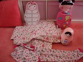 Girls gorgeous bedroom set by HIS NIBS Russian Dolls