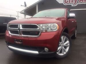 2013 Dodge Durango Crew Plus Heated Leather, Sunroof, DVD System