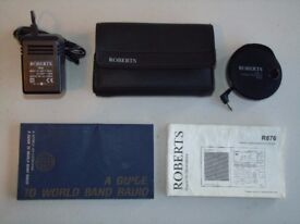 ROBERT R876 SHORTWAVE RADIO