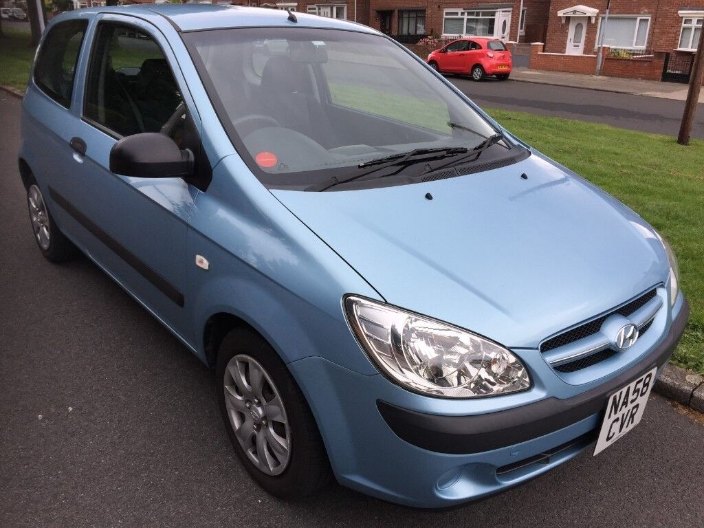 2008 (58) HYUNDAI GETZ 1,1 2 OWNER 69384 MILES WITH FULL HYUNDAI SERVICE  HISTORY LAST SERVICE 69225