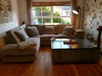 Corner settee and chair