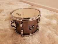 Gretsch energy tom 10 x 7 with Evens G2 G1 upgrade skins drum