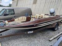 "1983 Procraft 1750V 17'6"" Fishing Boat & Trailer - Tennessee"