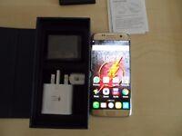 Samsung Galaxy S7 Edge gold on Vodafone 32gb
