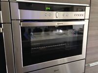 Neff C47C42.0GB Built-In Combination Single Steam Oven - Stainless Steel Finish