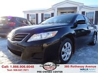 2011 Toyota Camry LE ONLY $117.98 BI WEEKLY!!!