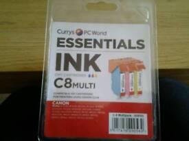 CURRYS - CLI-8 MULTI PRINTER INK CARTRIDGES