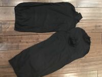 Black Lycra Female/Male Mannequin Covers