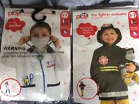 Doctors and Fireman fancy dress up outfit **brand new 6 - 7 years approx