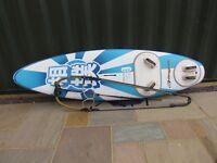 Angulo Sumo 155ltr Windsurfing Board & Naish Boom - suite beginner/intermediate riders