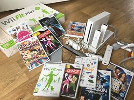 Nintendo wii, games and controllers