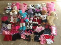Build a Bear Bundle inc 10 Full Size Bears