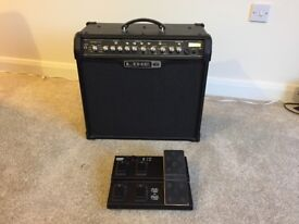 Line 6 Guitar Amp - Spider IV 75 - Multi effects - With FBV Express MK2 pedal.