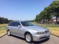 2001/51 BMW 520i SE TOURING, 2.2 PETROL, AUTOMATIC, ESTATE ***FULL LEATHER***NOV MOT***DRIVES GREAT