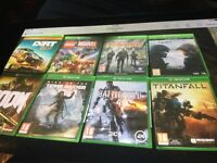 Loads Xbox one games for sale from £14 each upto £29 each ask for prices