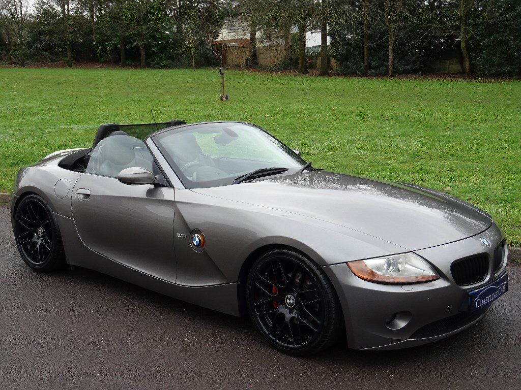 2005 bmw z4 3 0 i se roadster 2dr m sport full black heated leather in poole dorset gumtree. Black Bedroom Furniture Sets. Home Design Ideas