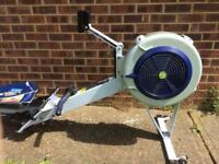 Concept 2 model d pm3 with heart rate sensor and manuals