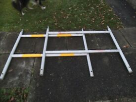 Kwik form GKN alloy scaffolding sections