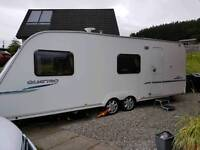 Sprite Quattro ES T2B 2008, twin axle plus inflatable awning