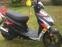 50cc Moped Beeline Tapo RS 17 plate