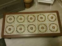 Retro coffee table for sale. Collection from St Albans. Can deliver locally