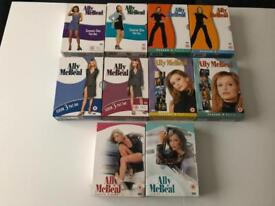 DVDs Ally McBeal 1-5