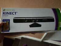 Xbox 360 kinect with 5 games