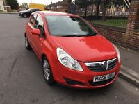 2007 Vauxhall Corsa 1.4 Club Automatic 5 Door Red Long MOT Smooth Drive Good Condition Lady Owner