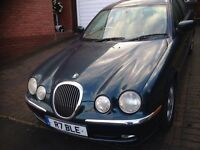 Jaguar S Type 3.0 green with beige ltr 2003 drives great long Mot high spec £895