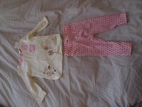 Brand new baby girl outfit (never been worn). 3-6 mths.