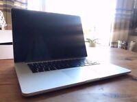Apple MacBook Pro 256 GB (Retina, 15-inch, Mid 2014) *Cinema 4D, Photoshop CS6, Adobe After Effects*