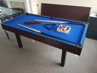 6ft dining table / pool table / table tennis table