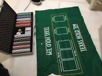Professional Texas Hold 'Em Poker/Blackjack Set (500 Piece)