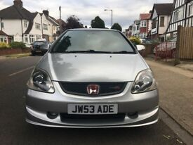 2004 (53) Honda Civic Type R EP3 Silver
