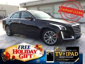 2017 Cadillac CTS 3.6L Luxury AWD (Bose, Nav, Remote Start)