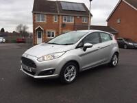 2014 FORD FIESTA ZETEC, 1.2 PETROL, MOT OCT 2018, FULL SERVICE HISTORY, LOW MILEAGE, HPI CLEAR,
