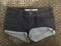 Topshop MOTO denim shorts - Size 8