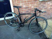 boardman hybrid comp road bike cycle with upgrades