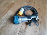 Makita trimmer router used 110v