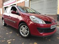 Renault Clio 2009 1.2 TCe 16v Expression 5 door 3 MONTHS WARRANTY, BARGAIN